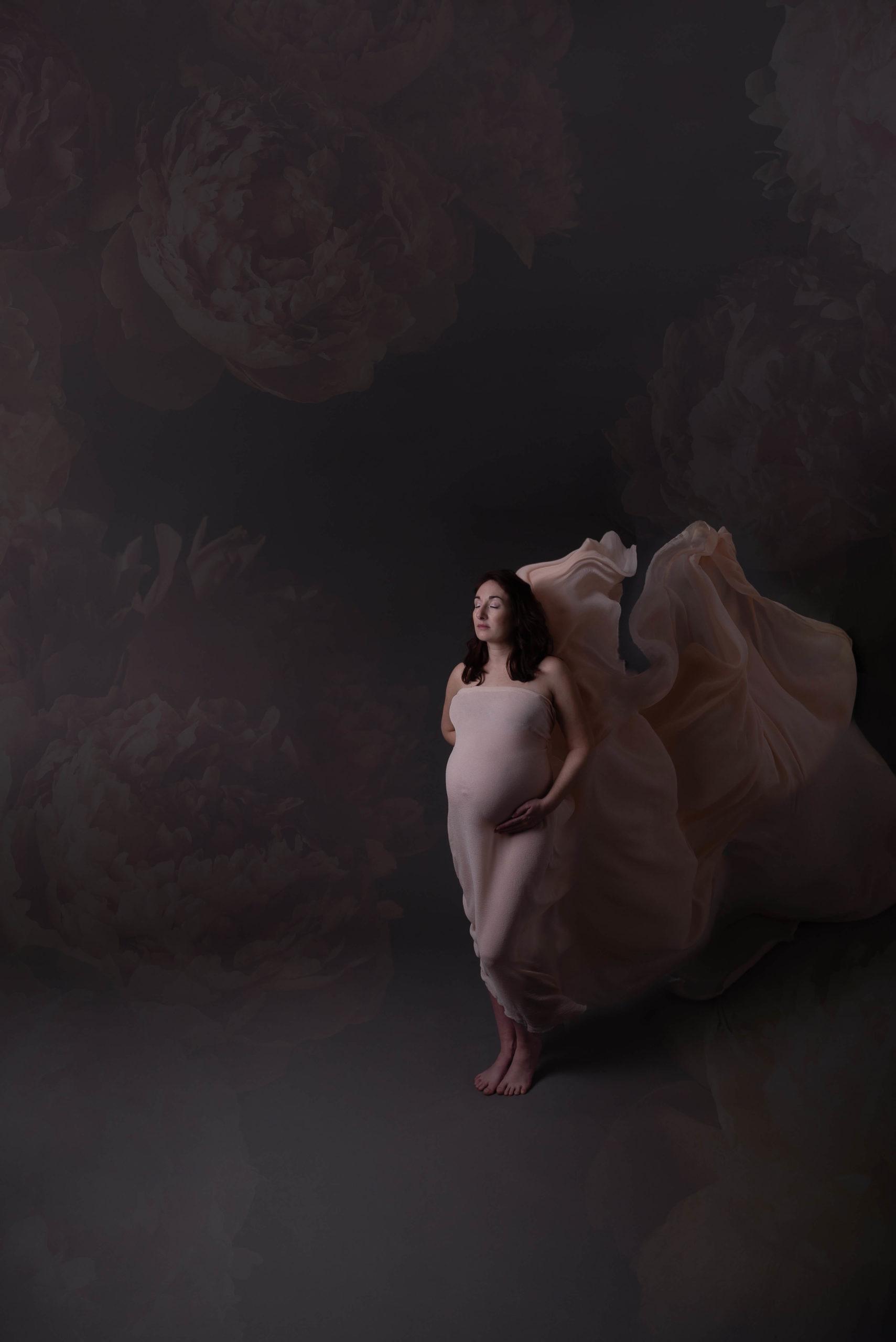 Sophie Rouzineau photographe seance photo grossesse studio à domicile en Vendée Les Sables d'Olonne